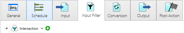 input filter in the channel options